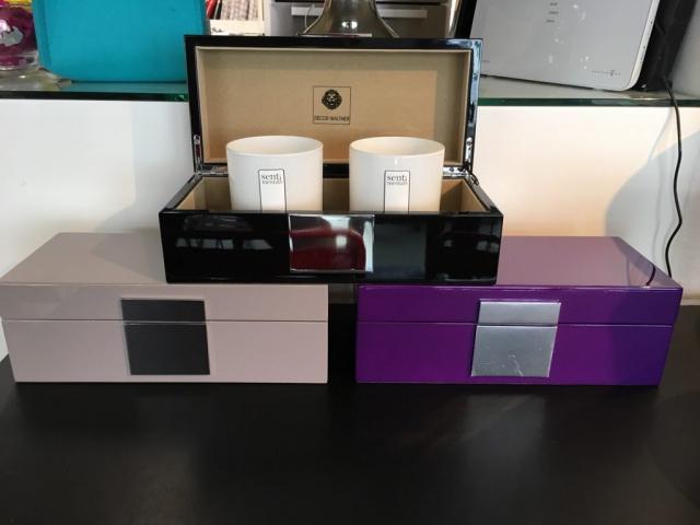 Decor Walther lackierte Box/Schmuckkästchen in 3 Farben